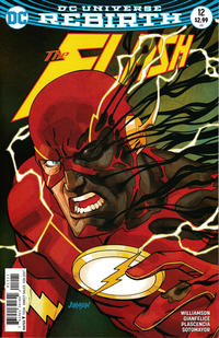 Cover Thumbnail for The Flash (DC, 2016 series) #12 [Dave Johnson Variant Cover]