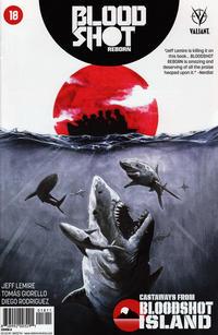 Cover Thumbnail for Bloodshot Reborn (Valiant Entertainment, 2015 series) #18 [Cover A - Stephen Segovia]