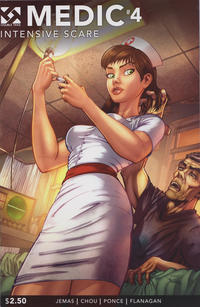 Cover Thumbnail for Medic (Double Take, 2015 series) #4