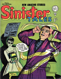 Cover Thumbnail for Sinister Tales (Alan Class, 1964 series) #40