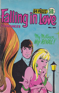 Cover Thumbnail for Falling in Love Romances (K. G. Murray, 1958 series) #99