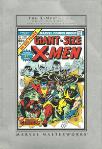 Cover Thumbnail for Marvel Masterworks: The Uncanny X-Men - Barnes & Noble Edition (Marvel, 2003 series) #1