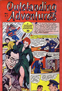 Cover Thumbnail for Outstanding Adventure (Bell Features, 1949 series) #63