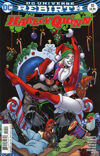 Cover Thumbnail for Harley Quinn (DC, 2016 series) #10