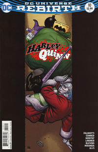 Cover Thumbnail for Harley Quinn (DC, 2016 series) #10 [Variant Cover]
