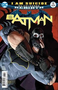 Cover Thumbnail for Batman (DC, 2016 series) #13