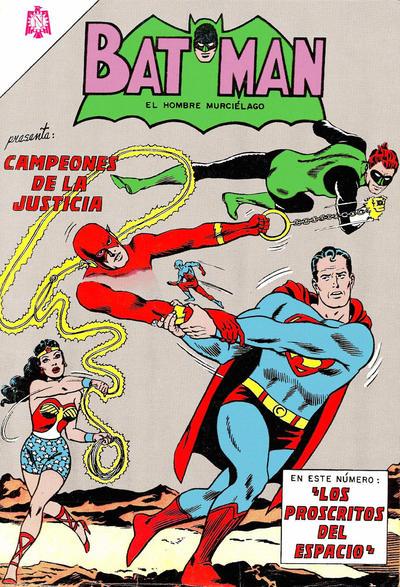Cover for Batman (Editorial Novaro, 1954 series) #252