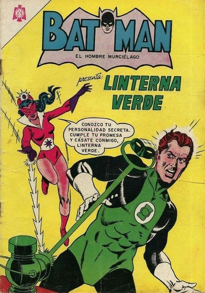 Cover for Batman (Editorial Novaro, 1954 series) #258