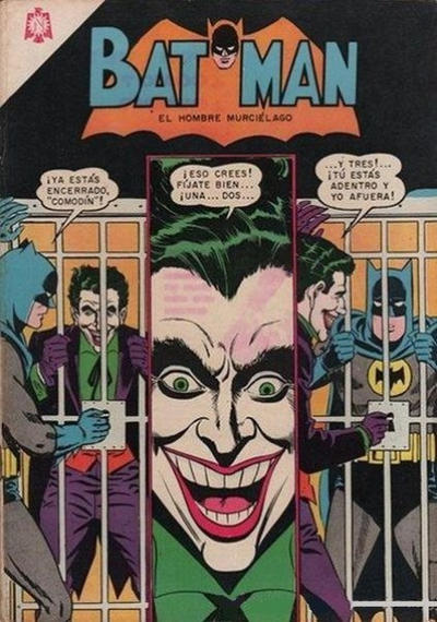 Cover for Batman (Editorial Novaro, 1954 series) #268