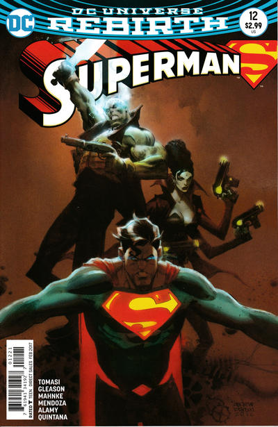 Cover for Superman (DC, 2016 series) #12 [Newsstand]