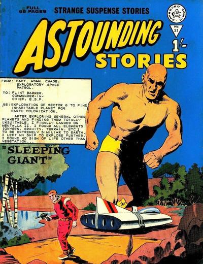 Cover for Astounding Stories (Alan Class, 1966 series) #21