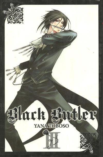 Cover for Black Butler (Yen Press, 2010 series) #3