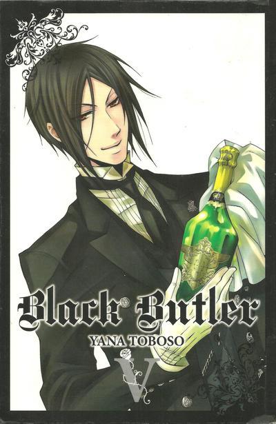 Cover for Black Butler (Yen Press, 2010 series) #5