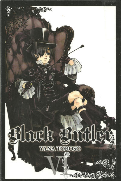 Cover for Black Butler (Yen Press, 2010 series) #6
