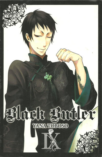 Cover for Black Butler (Yen Press, 2010 series) #9