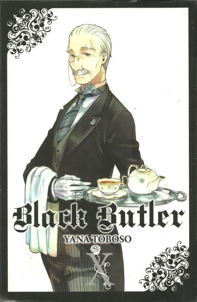 Cover for Black Butler (Yen Press, 2010 series) #10