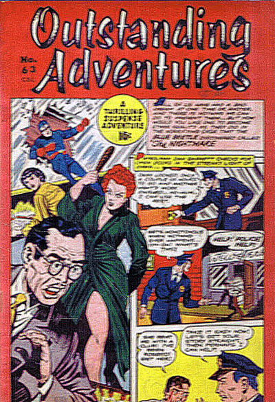 Cover for Outstanding Adventure (Bell Features, 1949 series) #63