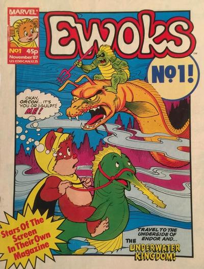 Cover for Ewoks (Marvel UK, 1987 series) #1
