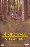 Cover for 4 Kids Walk into a Bank (Black Mask Studios, 2016 series) #1 [New England Comics Store Variant]