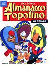 Cover for Almanacco Topolino (Arnoldo Mondadori Editore, 1957 series) #1