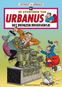 Cover Thumbnail for De avonturen van Urbanus (Standaard Uitgeverij, 1996 series) #81 - Het bronzen broekventje [Eerste druk (2000)]