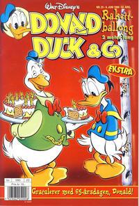 Cover Thumbnail for Donald Duck & Co (Hjemmet / Egmont, 1948 series) #23/1999