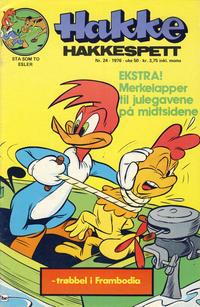 Cover Thumbnail for Hakke Hakkespett (Nordisk Forlag, 1973 series) #24/1976