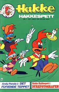 Cover Thumbnail for Hakke Hakkespett (Semic, 1977 series) #1/1977
