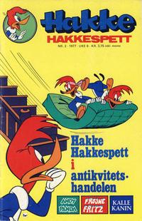 Cover Thumbnail for Hakke Hakkespett (Semic, 1977 series) #2/1977