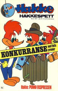 Cover Thumbnail for Hakke Hakkespett (Semic, 1977 series) #6/1977