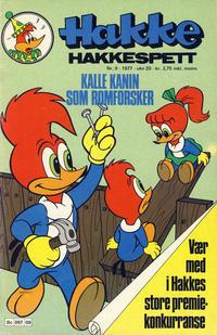 Cover Thumbnail for Hakke Hakkespett (Semic, 1977 series) #9/1977
