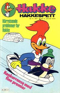 Cover Thumbnail for Hakke Hakkespett (Semic, 1977 series) #11/1977