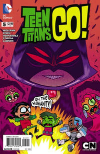 Cover Thumbnail for Teen Titans Go! (DC, 2014 series) #5