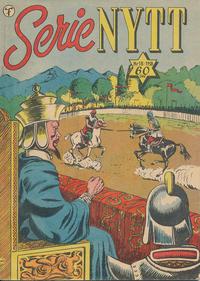 Cover Thumbnail for Serie-nytt [Serienytt] (Formatic, 1957 series) #18/1958