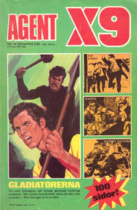 Cover Thumbnail for Agent X9 (Semic, 1971 series) #3/1974