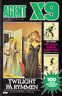 Cover Thumbnail for Agent X9 (Semic, 1971 series) #5/1982