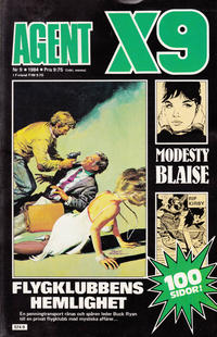 Cover Thumbnail for Agent X9 (Semic, 1971 series) #9/1984