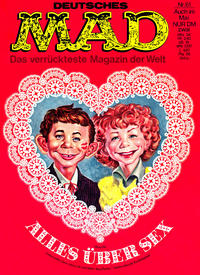 Cover Thumbnail for Mad (BSV - Williams, 1967 series) #61