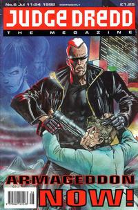 Cover Thumbnail for Judge Dredd the Megazine (Fleetway Publications, 1992 series) #6