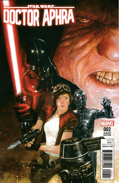 Cover for Doctor Aphra (Marvel, 2017 series) #2 [Incentive Dave Dorman Variant]