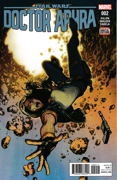 Cover for Doctor Aphra (Marvel, 2017 series) #2 [Kamome Shirahama Cover]