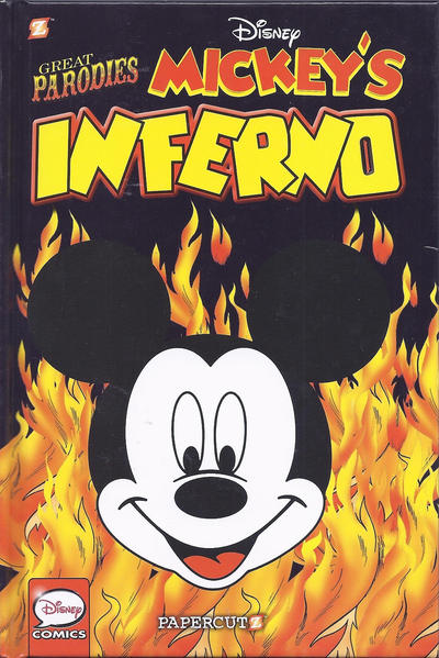 """Cover for Disney Graphic Novels (NBM, 2015 series) #4 - Great Parodies """"Mickey's Inferno"""""""