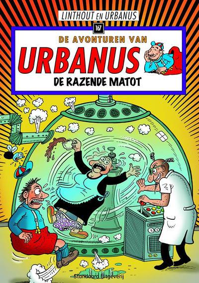 Cover for De avonturen van Urbanus (Standaard Uitgeverij, 1996 series) #167 - De razende matot