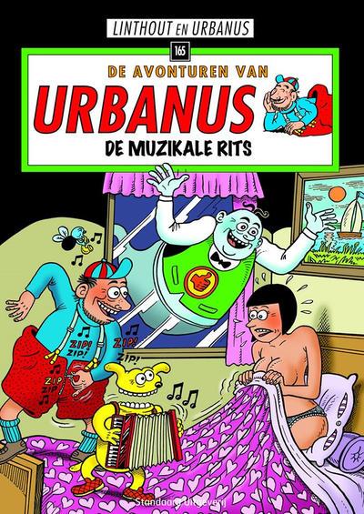 Cover for De avonturen van Urbanus (Standaard Uitgeverij, 1996 series) #165 - De muzikale rits