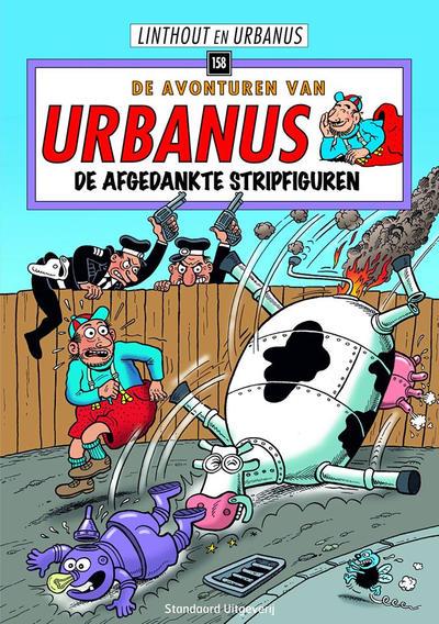 Cover for De avonturen van Urbanus (Standaard Uitgeverij, 1996 series) #158 - De afgedankte stripfiguren