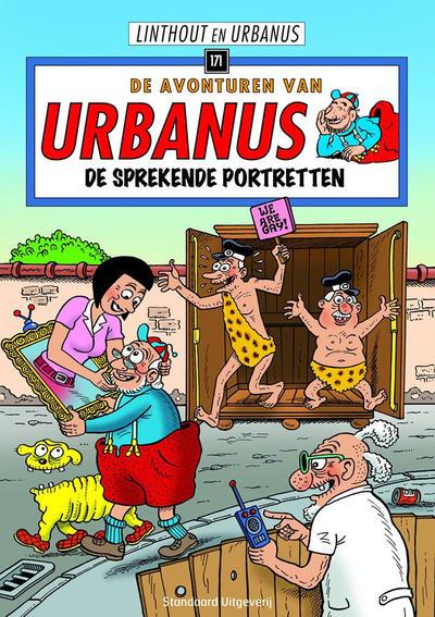 Cover for De avonturen van Urbanus (Standaard Uitgeverij, 1996 series) #171 - De sprekende portretten