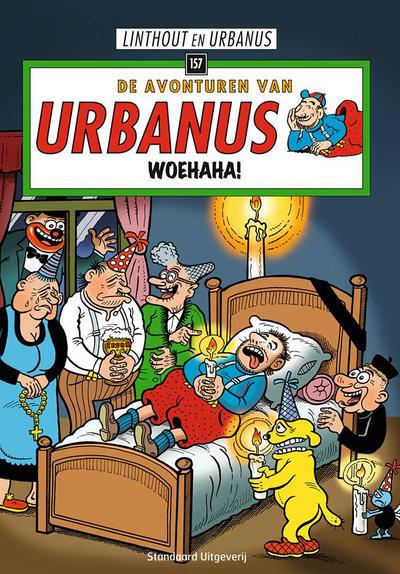 Cover for De avonturen van Urbanus (Standaard Uitgeverij, 1996 series) #157 - Woehaha!
