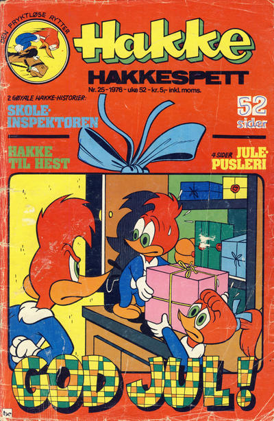 Cover for Hakke Hakkespett (Nordisk Forlag, 1973 series) #25/1976