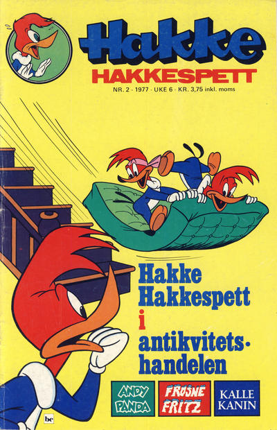 Cover for Hakke Hakkespett (Semic, 1977 series) #2/1977