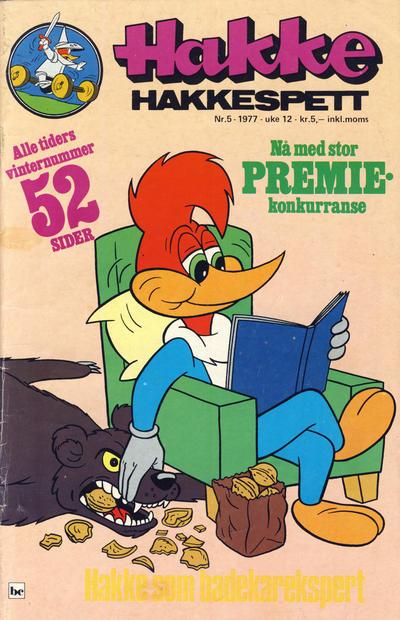 Cover for Hakke Hakkespett (Semic, 1977 series) #5/1977